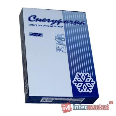 Бумага офисная СНЕГУРОЧКА, A4, 80g, 500 листов