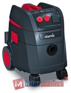 Пылесос Starmix ISP ARD-1435 EWS PERMANENT Для сухой и влажной уборки с одновременной работой электроинструмента, мощность 1400 Вт, объем контейнера 35л, вес 15 кг