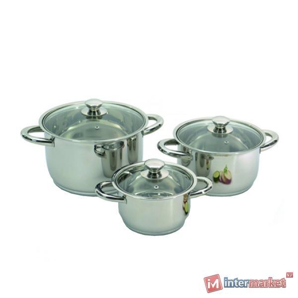 Набор посуды BergHOFF Vision premium 1106000 6 пр.
