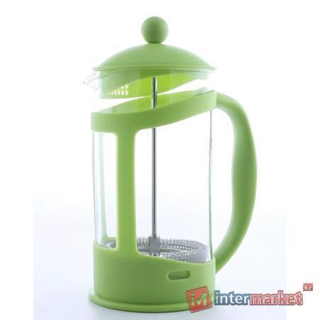 Френч-пресс Berghoff 1106843 для кофе/чая лаймовый 0,8л