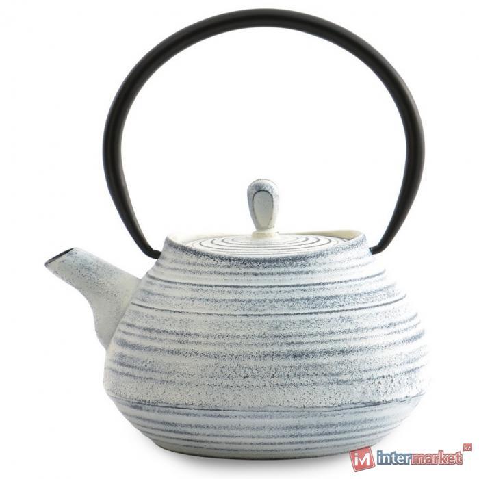 Чугунный чайник 1,1л STUDIO белый 1107114