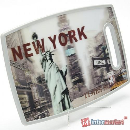 Доска разделочная 3D NEW-YORK 24760 МВ