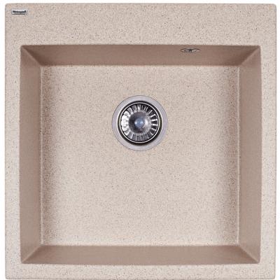 Мойка Weissgauff QUADRO 505 Eco Granit песочный (306311)