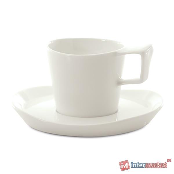 Чашка с блюдцем для эспрессо Berghoff 3700024 2шт