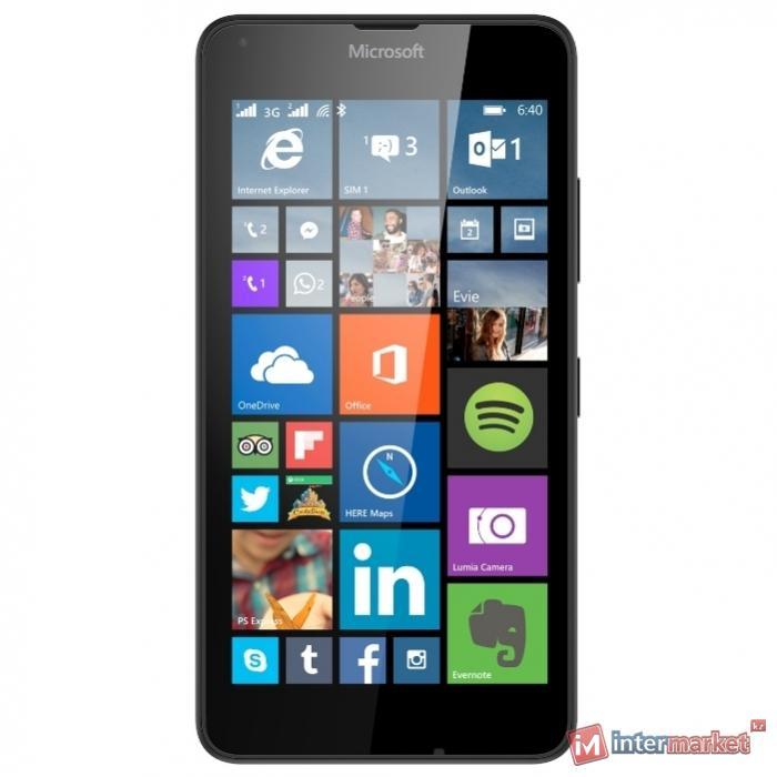 Смартфон Microsoft Lumia 640 3G Dual Sim, Black