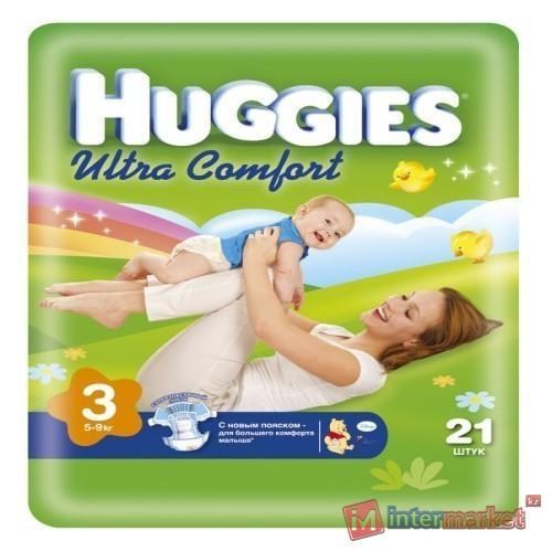 Подгузники huggies астана