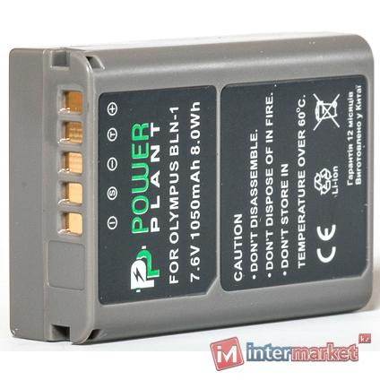 Аккумулятор PowerPlant Olympus PS-BLN1 1050mAh