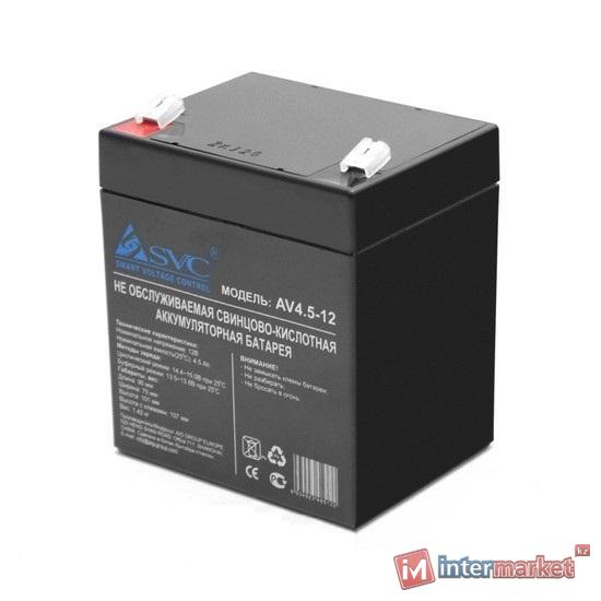 Батарея для ИБП SVC 12V, 4.5Ah