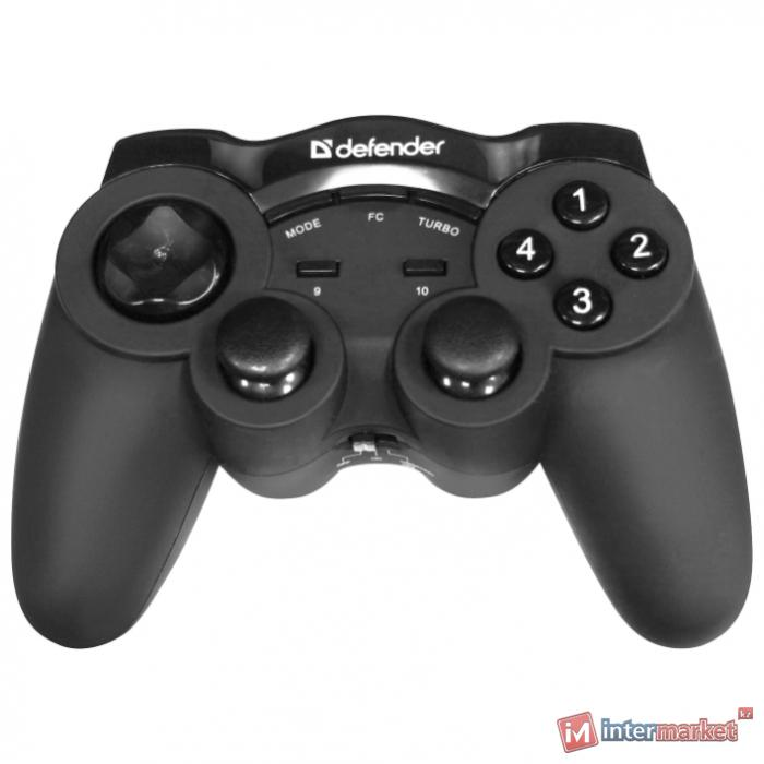 Геймпад Defender Game Racer Wireless G2