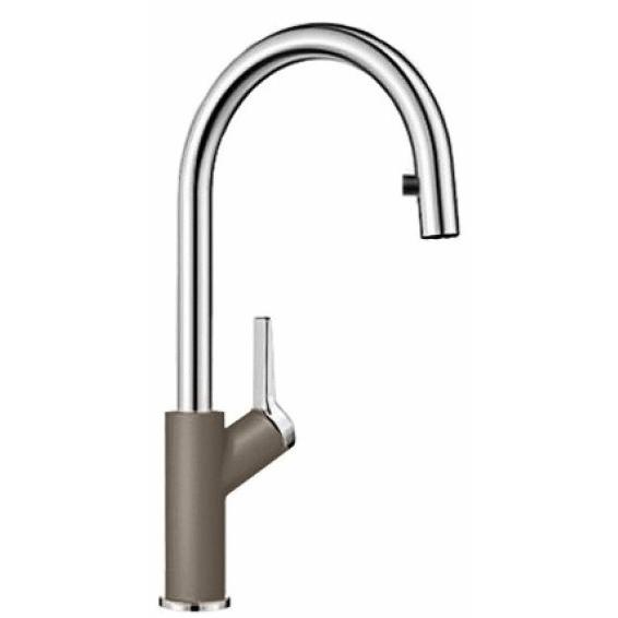 Кухонный смеситель Blanco Carena S - серый беж (520987)