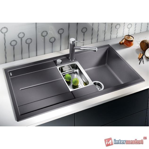Кухонная мойка Blanco Metra 6 S - алюметалик (513045)