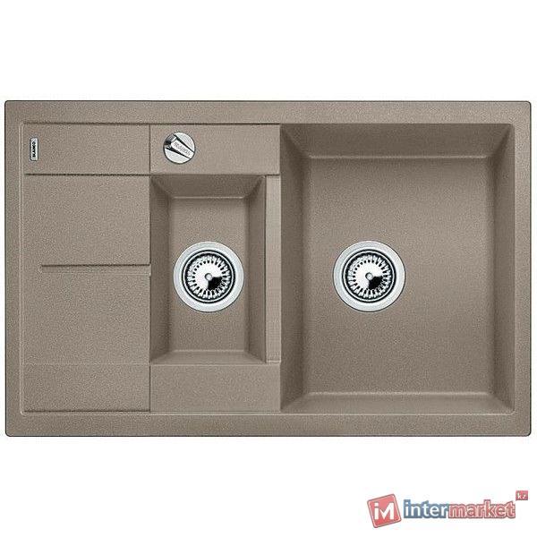 Кухонная мойка Blanco Metra 6 S compact - серый беж. (517353)