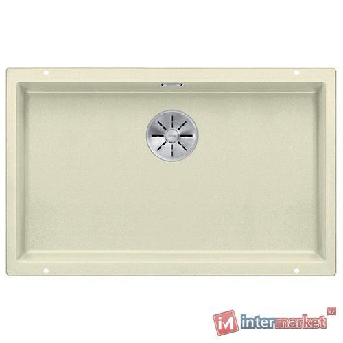 Врезная кухонная мойка Blanco Subline 700-U Silgranit PuraDur с InFino 73х46см искусственный гранит