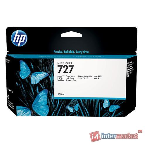 Картридж HP B3P23A (№727, фотографический черный)