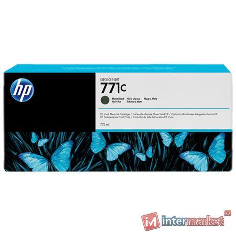 Картридж Designjet HP 771C, B6Y07A, для HP Designjet Z6200, Matte-black