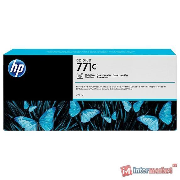Фотокартридж Designjet HP 771C (B6Y13A), для HP Designjet Z6200, Photo Black
