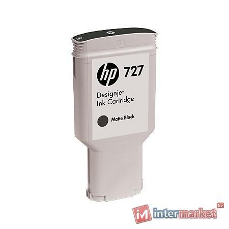 Картридж HP 727 (C1Q12A), Matte Black
