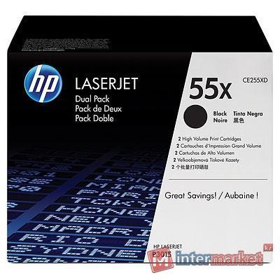 Картридж HP CE255XD