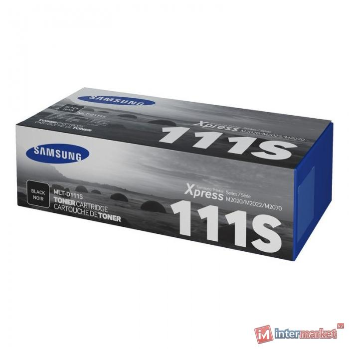 Картридж лазерный Samsung MLT-D111S, Black