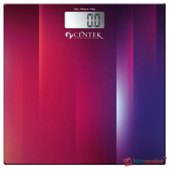 Весы электронные CENTEK CT-2420 Фиолетовый-Красный