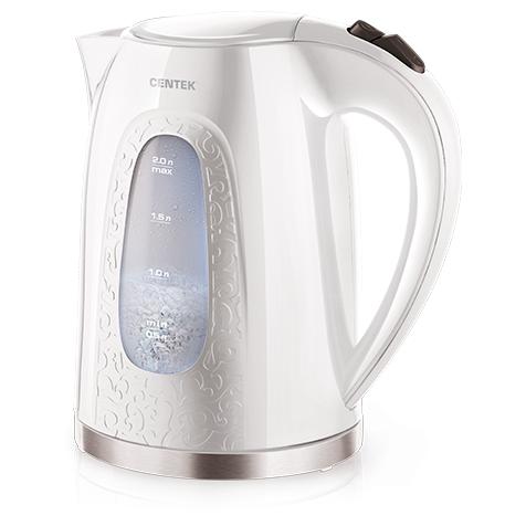 Чайник Centek CT-0041 <White 2.0л>