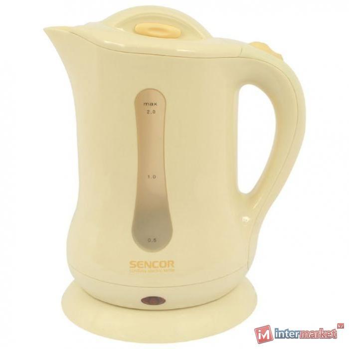 Чайник Sencor SWK 2000 YELLOW