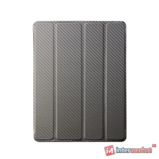 Чехол для планшета, Cooler Master, Wake Up Folio, (C-IP3F-CTWU-ZZ), iPad4/iPad3/iPad2, Карбон, Светло-Коричневый