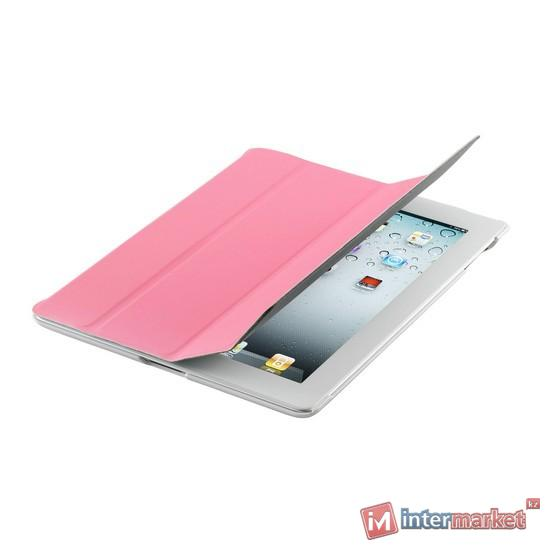 Чехол для планшета, Cooler Master, Wake Up Folio, (C-IP3F-SCWU-NW), iPad4/iPad3/iPad2, Розовый
