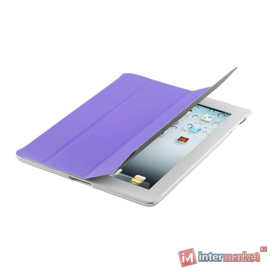 Чехол для планшета, Cooler Master, Wake Up Folio, (C-IP3F-SCWU-PW), iPad4/iPad3/iPad2, Фиолетовый