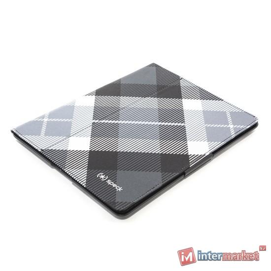Чехол для планшета, Speck, iPad4/iPad3/iPad2, FitFolio SPK-A1190, Клетчатый чёрный