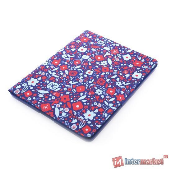 Чехол для планшета, Speck, iPad4/iPad3/iPad2, FitFolio SPK-A1191, Цветочный сине-красный узор