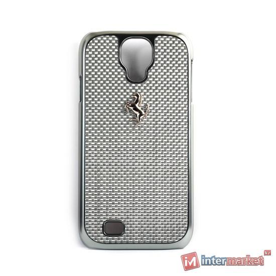 Чехол для телефона Ferrari GT Carbon Hardcase FECBSIHCS4WH