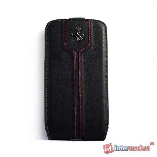 Чехол для телефона Ferrari Montecarlo Flapcase FEMTFLS4BL