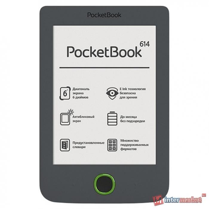 Электронная книга PocketBook 614 (Gray)