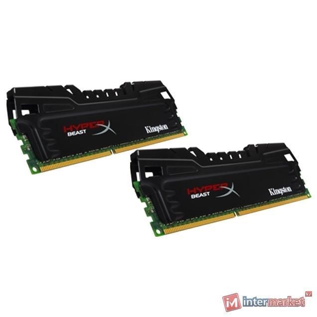Комплект модулей памяти Kingston HyperX Beast HX321C11T3K2/8, DDR3, 8 GB
