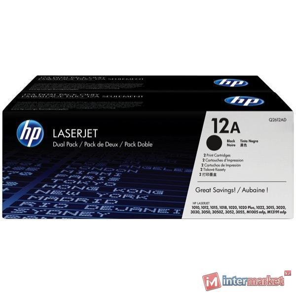 Картридж HP Q2612AD (Black)