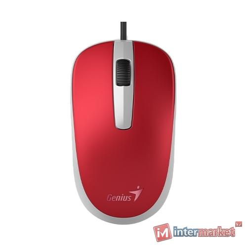 Мышь Genius DX-120 Passion Red USB