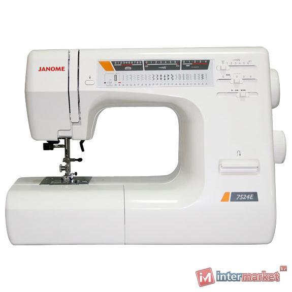 Электромеханическая швейная машина Janome 7524E