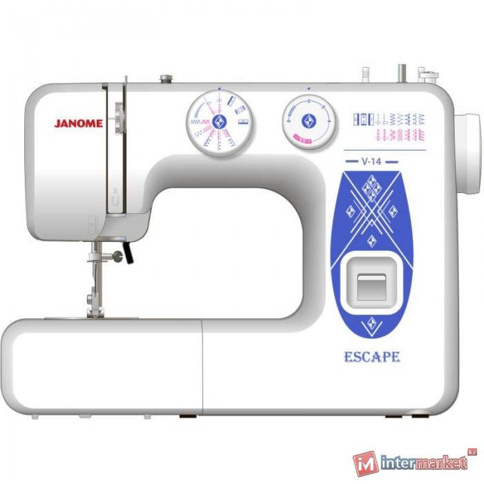 Электромеханическая швейная машина JANOME V-14 Escape