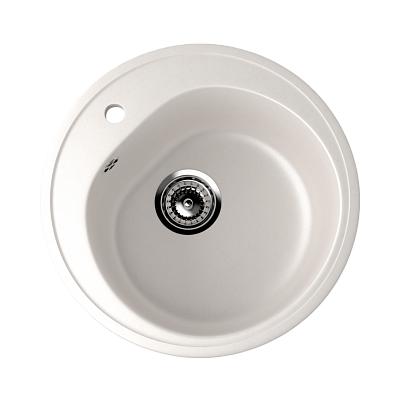 Врезная кухонная мойка EcoStone ES-11 (белый)