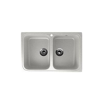 Врезная кухонная мойка EcoStone ES-23 310 (серый)