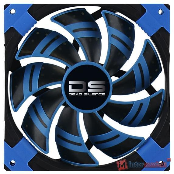 Кулер AeroCool 12cm DS Fan Blue Edition