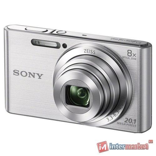 Фотоаппарат компактный Sony DSC-W830, серебро