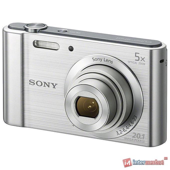 Фотоаппарат Sony Cyber-shot DSC-W800, Silver