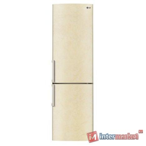 Холодильник LG GA-B499ZECZ, Бежевый