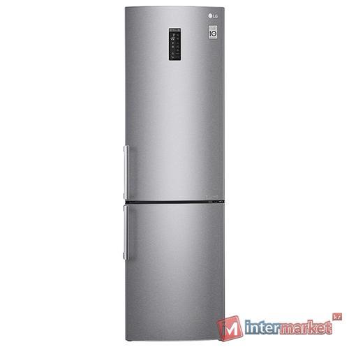 Холодильник LG GA-B499ZMC, Серебристый