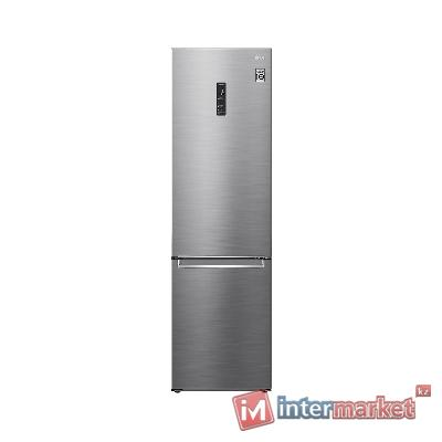 Холодильник LG GA-B509SMUM (серебро, 2,03 м высота, нижняя морозилка)