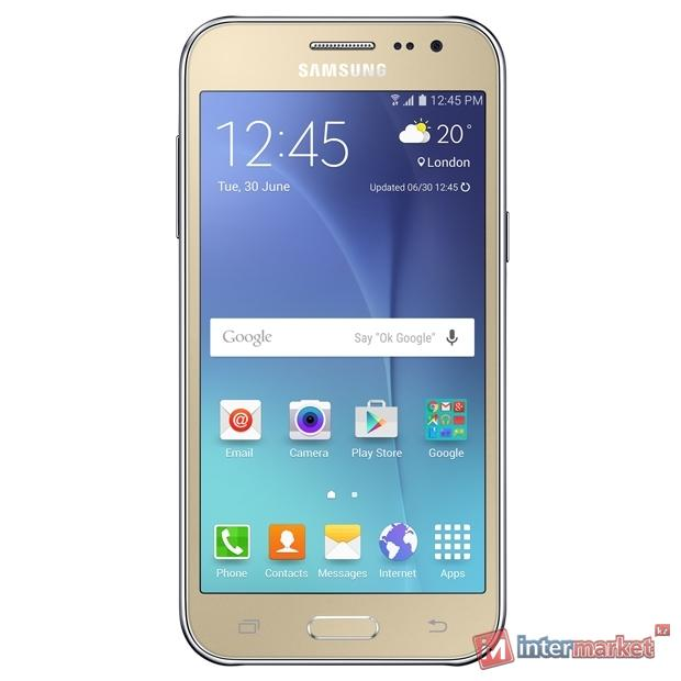 Смартфон Samsung Galaxy J2, Gold