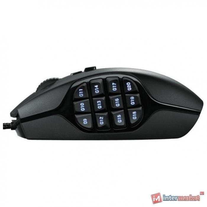 Мышь Logitech G600 MMO Gaming Mouse Black USB
