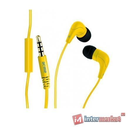 Гарнитура ACME HE-15Y, Yellow